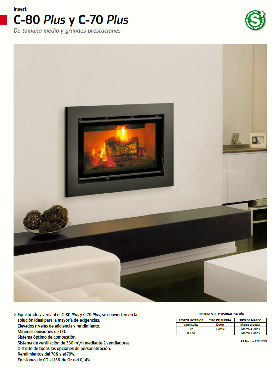 C-70 Plus, página del catálogo 2013