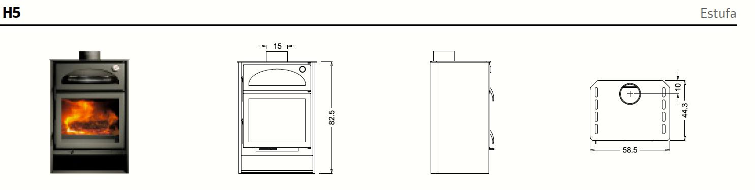 La H5, descripción del catálogo