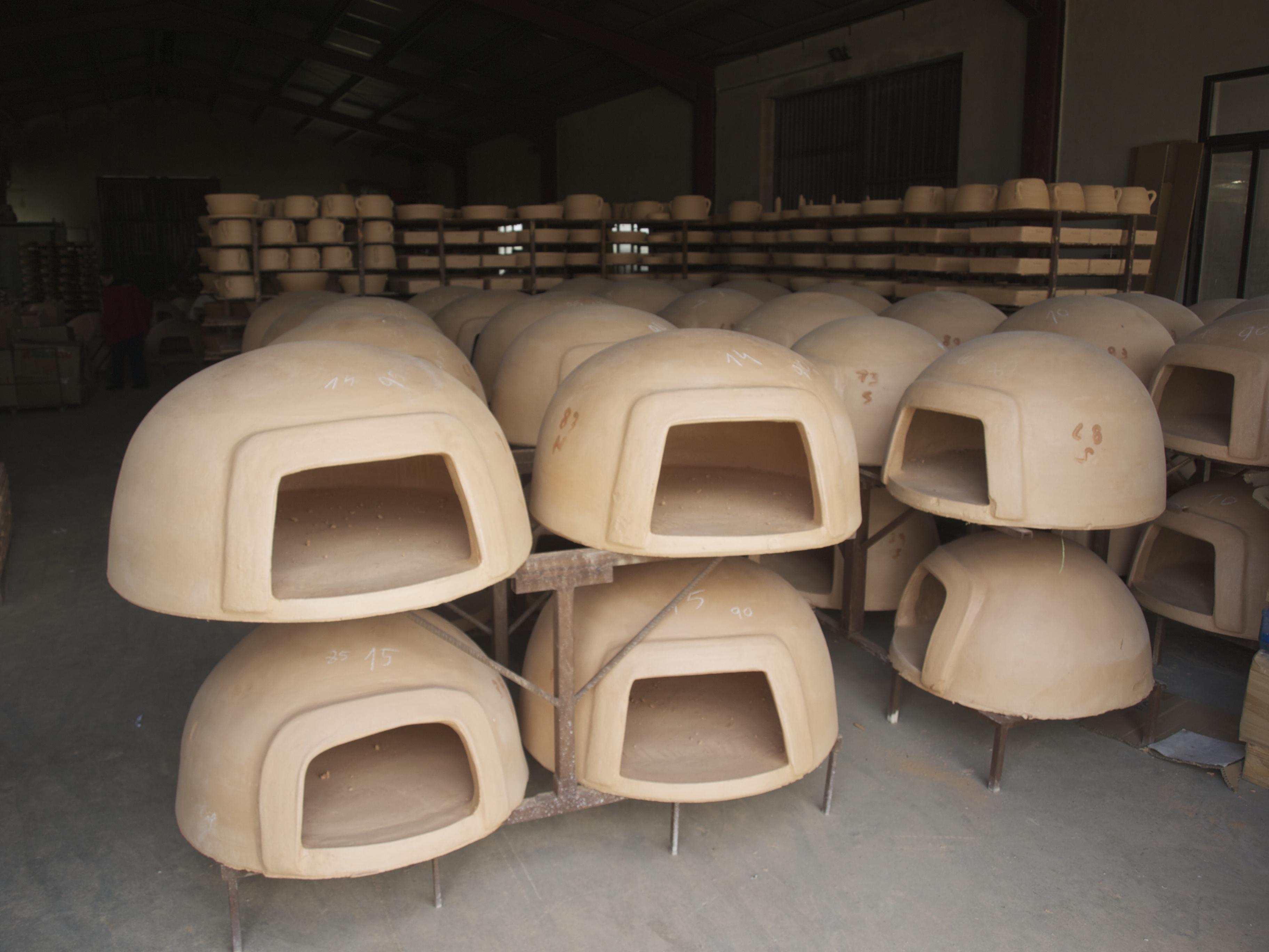 Los hornos de barro, en el almacén