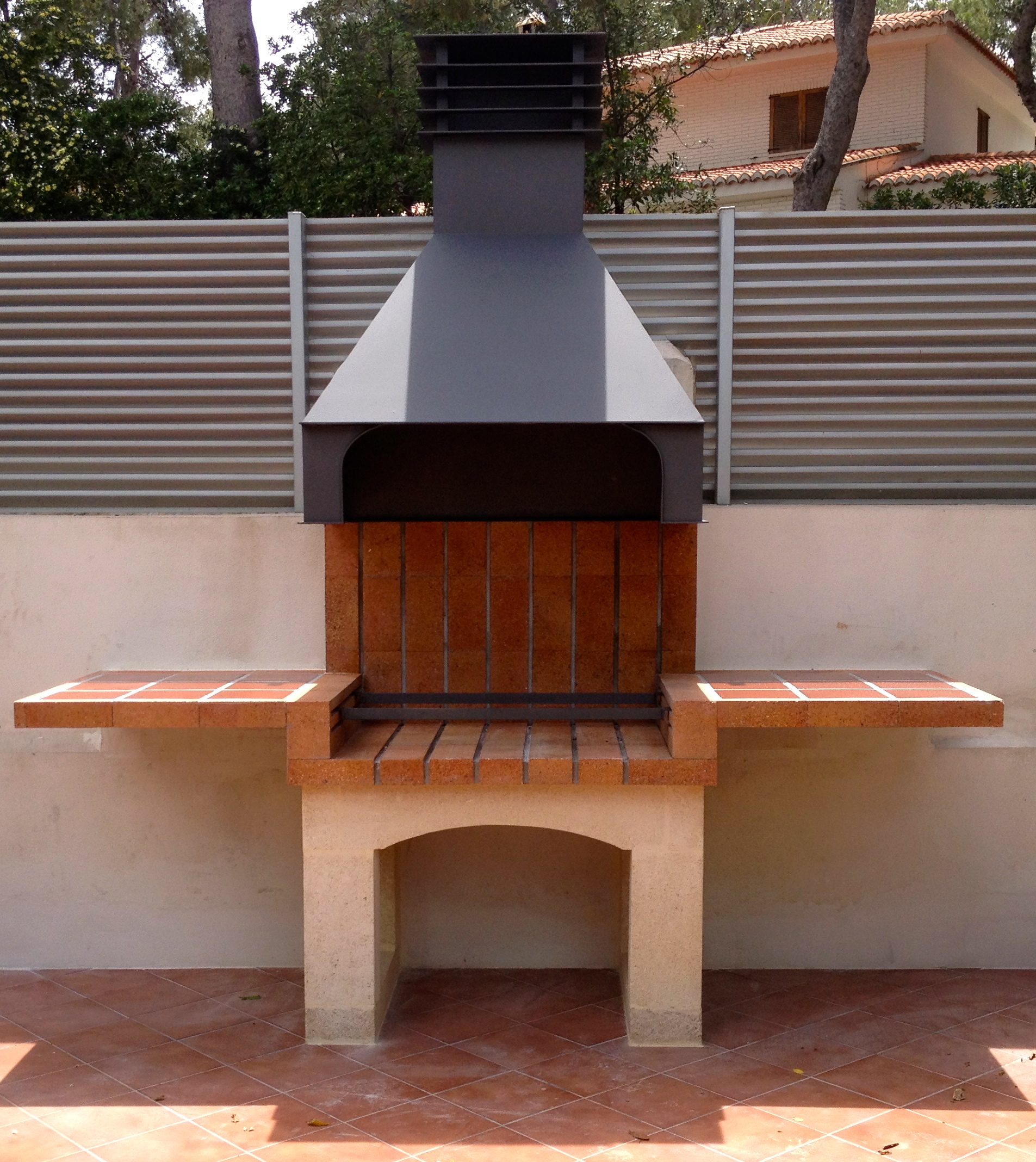 Blog chimeneas s nchez part 2 - Barbacoas de ladrillo refractario ...