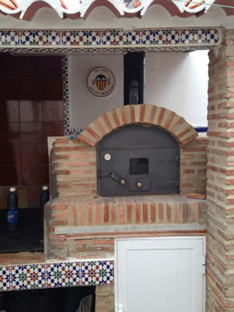 Un horno moruno en una vivienda unifamiliar