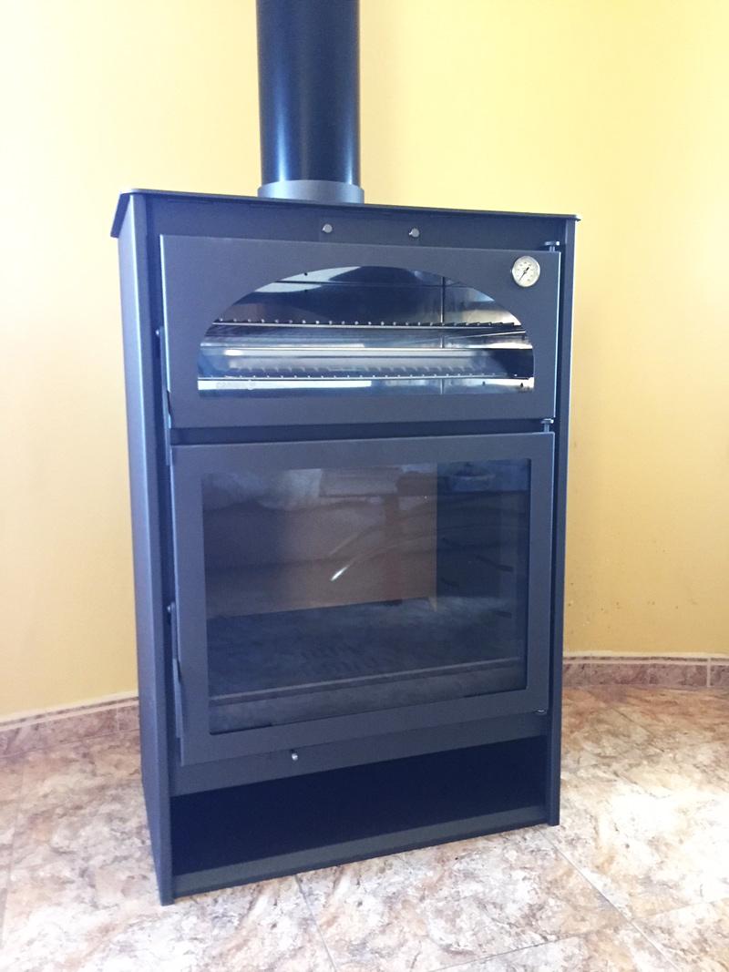 Chimeneas s nchez calefacci n a le a y pellet en valencia - Estufas y hornos de lena ...